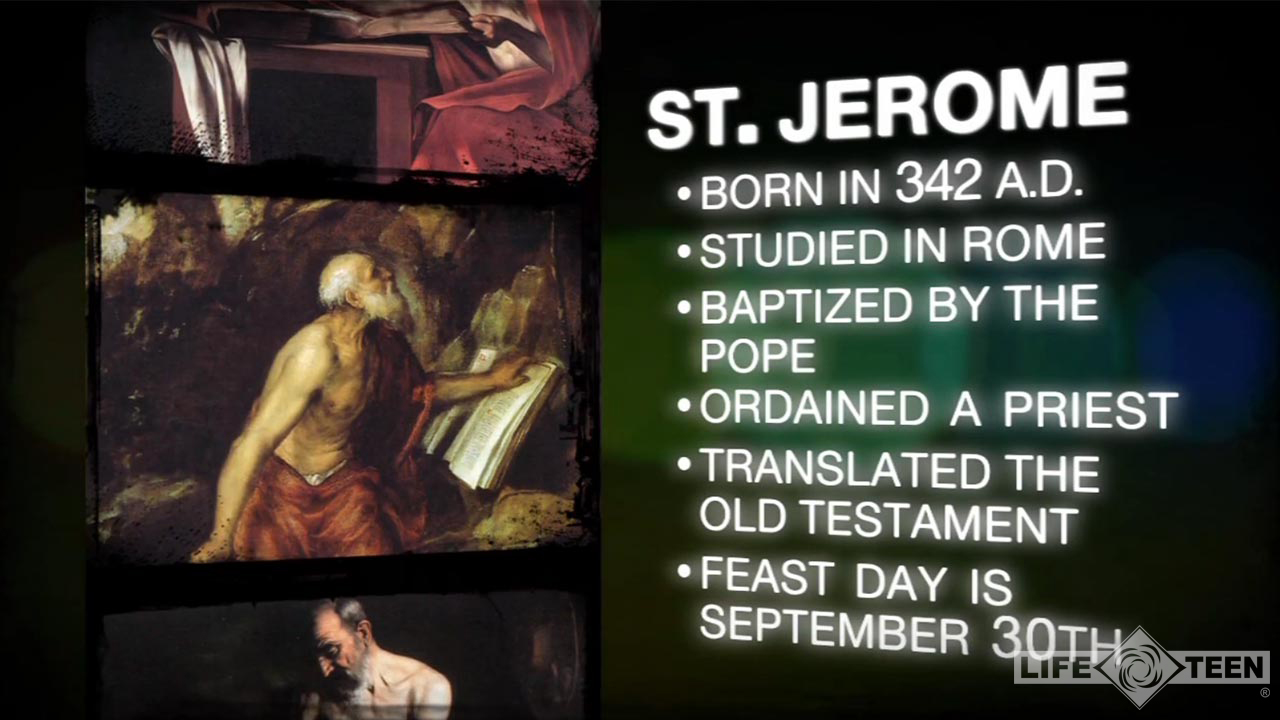 2013-Video-Catholic-Saintly-Minute-Saint-Jerome